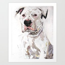 Wilbur for Friends of the Shelter Art Print