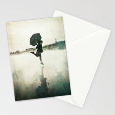 La danse de la pluie Stationery Cards