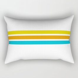 Retro #8 Rectangular Pillow