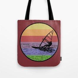 Windsurfing Tote Bag