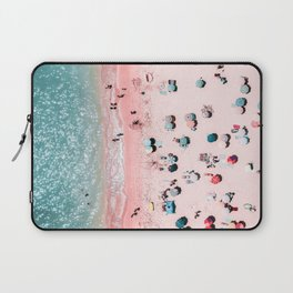 Ocean Print, Beach Print, Wall Decor, Aerial Beach Print, Beach Photography, Bondi Beach Print Laptop Sleeve