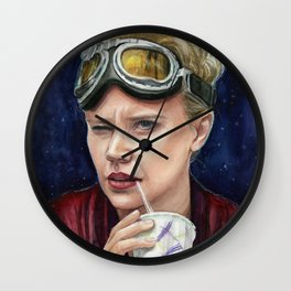 Holtzmann Ghostbusters Portrait Wall Clock