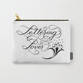 Lettering Lover Carry-All Pouch