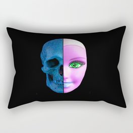 Alien Barbie Rectangular Pillow