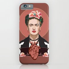 Frida Kahlo (Dark) iPhone 6 Slim Case