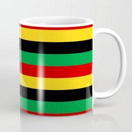 Guinea-Bissau Sao Tome and Principe flag stripes Coffee Mug