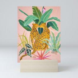 Cheetah Crush Mini Art Print