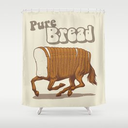 Pure Bread Shower Curtain