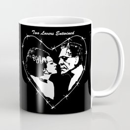 MAKE THIS OCTOBER AND HALLOWEEN A SCREAM WITH 2 LOVERS ENTWINED Coffee Mug