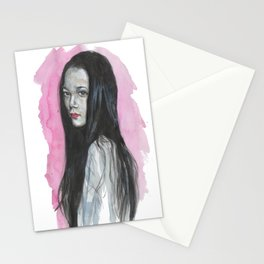 Innocent Chinese Girl Stationery Cards