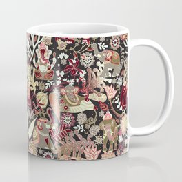 Asian elephants | shining emerald Coffee Mug