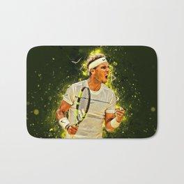 "Rafael ""Rafa"" Nadal Parera - Association of Tennis Professionals - Balearic Islands - Spain 443 Bath Mat"