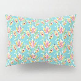 Island Tropical Floral Pillow Sham