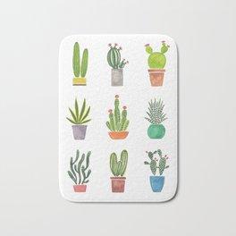 Mini Cactus Garden Bath Mat