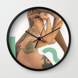 Tangled, Arms and Legs Wall Clock