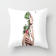 Women Creative Image Throw Pillow