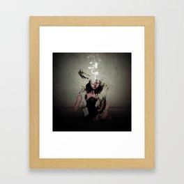 """The Poet """"Smoke"""" Framed Art Print"""