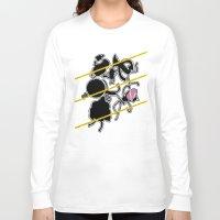 regular show Long Sleeve T-shirts featuring Regular Murder Show by zombieCraig by zombieCraig