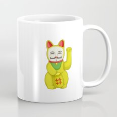 Occupy Lucky Cat Mug