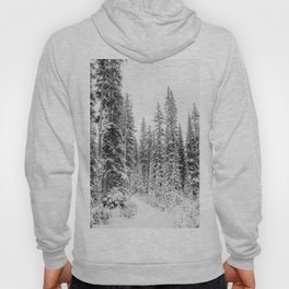 winter forrest Hoody