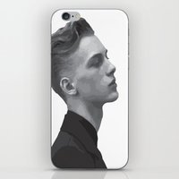 boys iPhone & iPod Skins featuring Boys by Grace Teaney Art