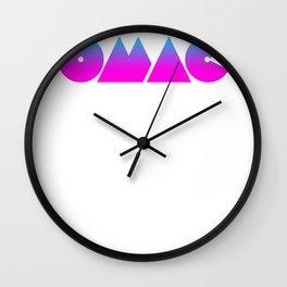 OMAC Wall Clock