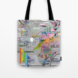 internetted Tote Bag