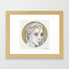 Inktober Royalty Framed Art Print