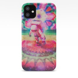 Psychedelic Astronaut iPhone Case