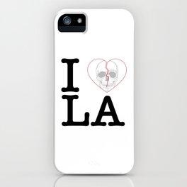I Heart Skull Los Angeles iPhone Case