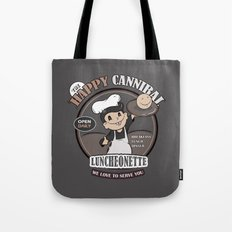 The Happy Cannibal Tote Bag