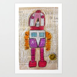 ROBOT 6 Art Print