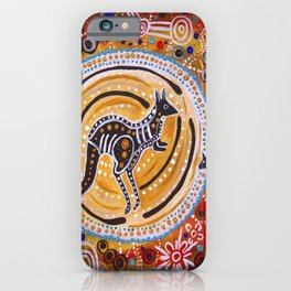 BORA THE KANGAROO  5 iPhone Case