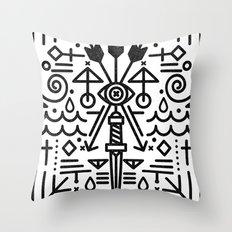 Eye of Vengence Throw Pillow