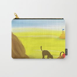 Treasure Hunt on the Beach Carry-All Pouch