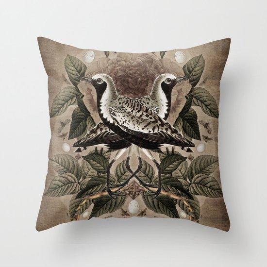 Pluvialis squatarola Throw Pillow