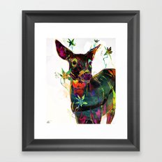 Distant Moment Framed Art Print
