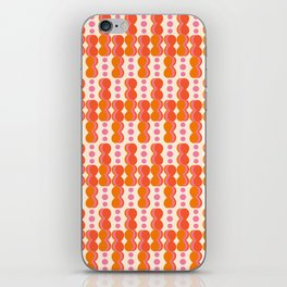 Uende Sixties - Geometric and bold retro shapes iPhone Skin