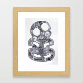 Ancestral Tiki Framed Art Print