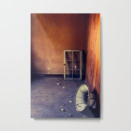Lonely Glow Metal Print