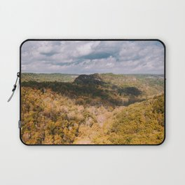 A Shadow Across the View, Red River Gorge, Kentucky Laptop Sleeve