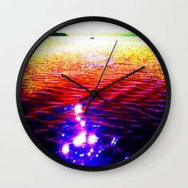 Sparkling Wall Clock