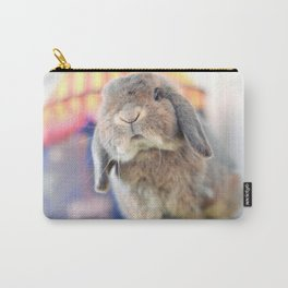 Bunny with circus tent Carry-All Pouch