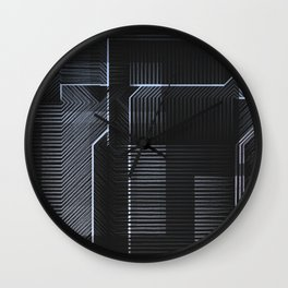 It's Not All Black and White Wall Clock