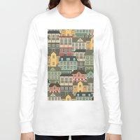 urban Long Sleeve T-shirts featuring Urban by Julia Badeeva
