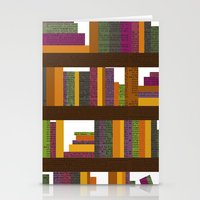 books Stationery Cards featuring Books by Sara Robish Andrews