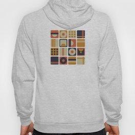 Retro Geometrical Minimalist Squares Hoody
