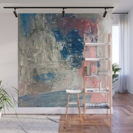 Abstract in Grey Wall Mural