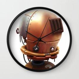 The wierd cute steampunk robot Wall Clock