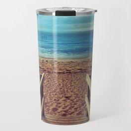 Boardwalk to the Beach Travel Mug